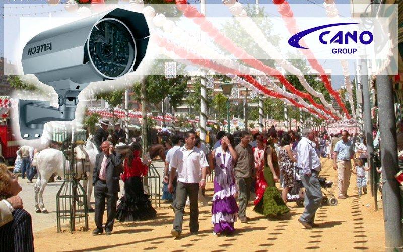 Videovigilancia en la Feria - Cano Group