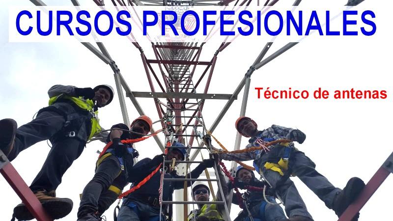 Curso tecnico de antenas - Cano Group