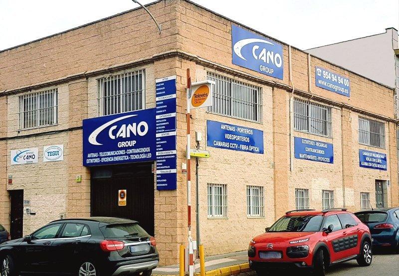 Fachada Cano Group Gines Contra Incendios