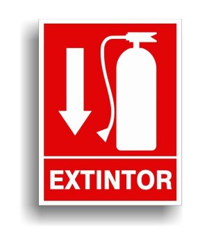placa-extintor