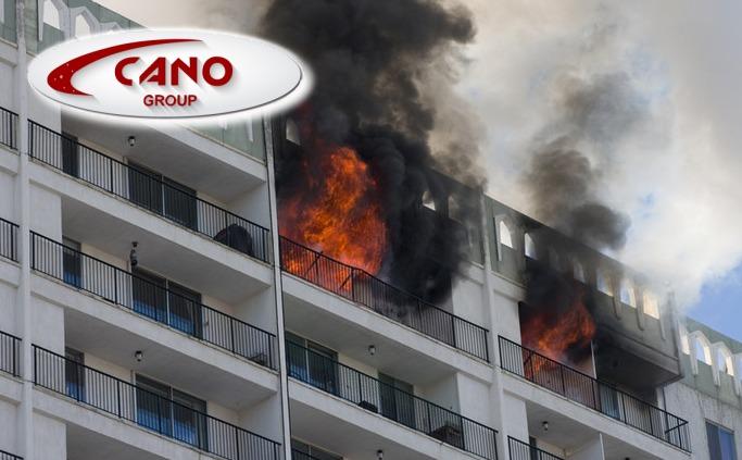 Incendio en comunidad de vecinos
