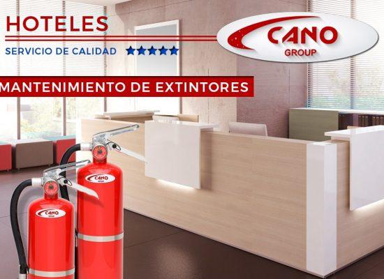 Contrato Extintores Mantenimiento para Hoteles