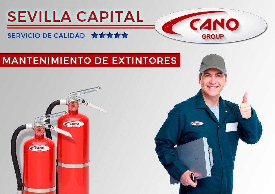Contrato Extintores Mantenimiento Sevilla