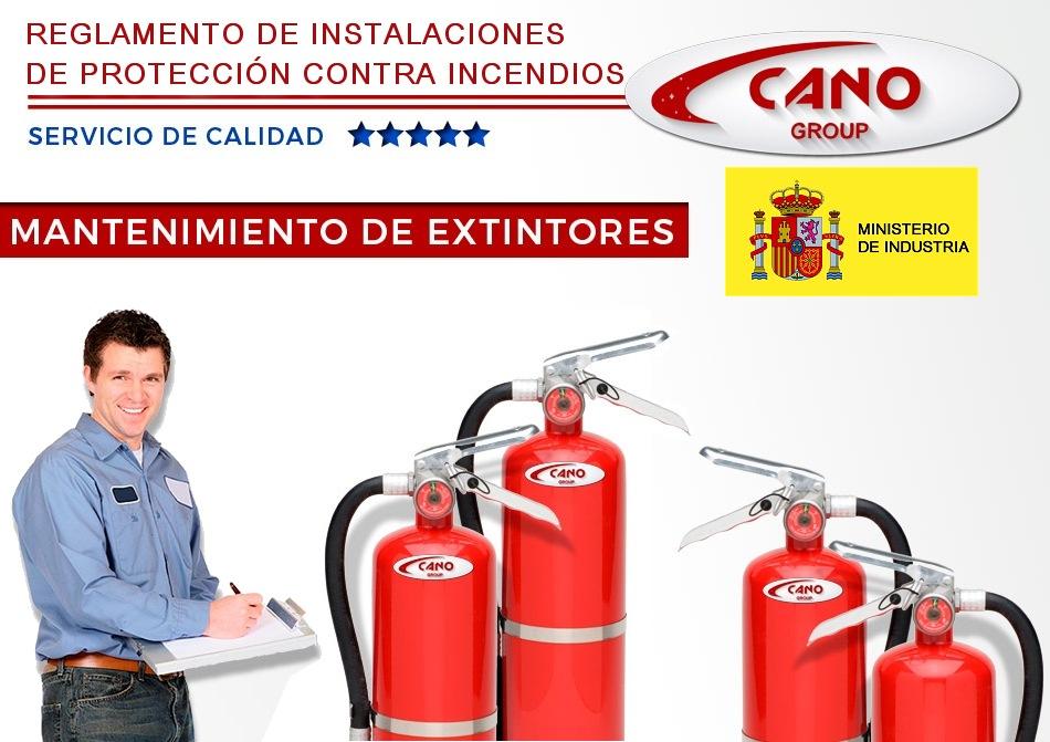 Contrato Extintores Mantenimiento Tablas Reglamento