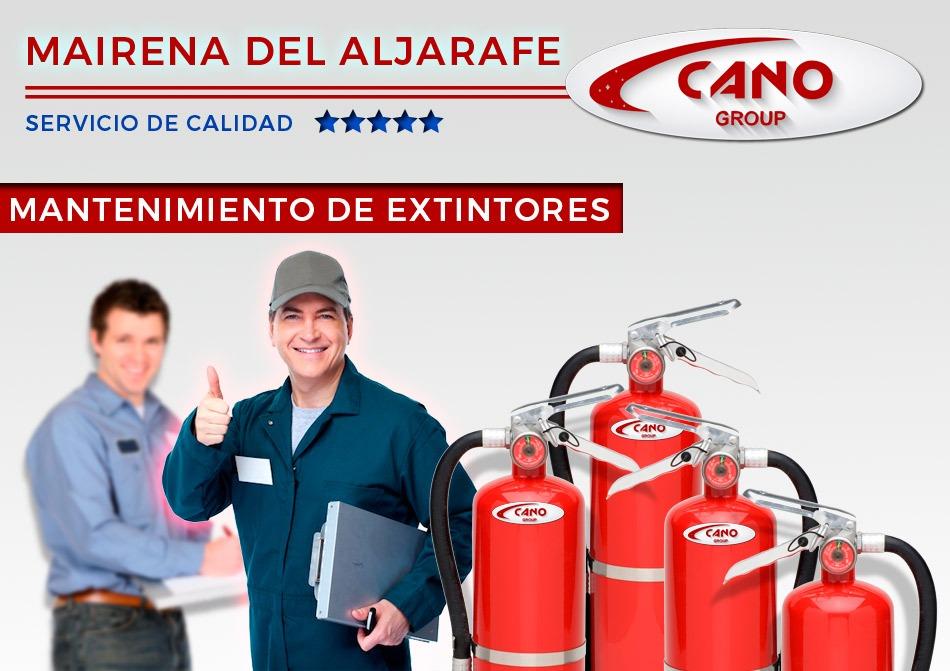Contrato Extintores Mantenimiento Mairena del Aljarafe