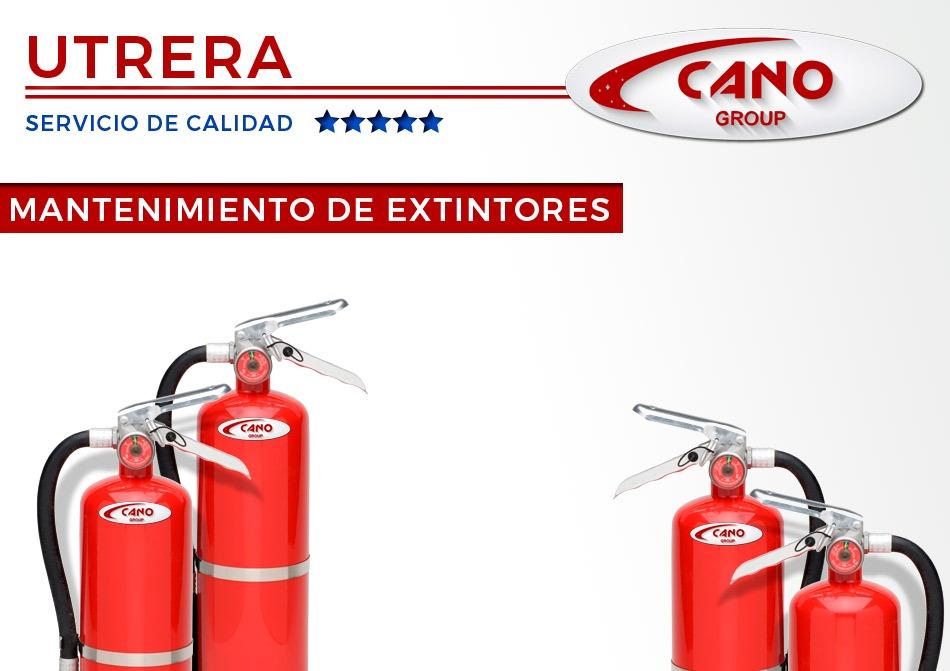 Contrato de mantenimiento de extintores en Utrera